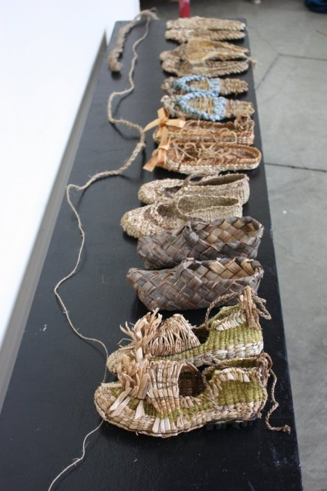 Evidence of our shared recent shoe weaving obsession